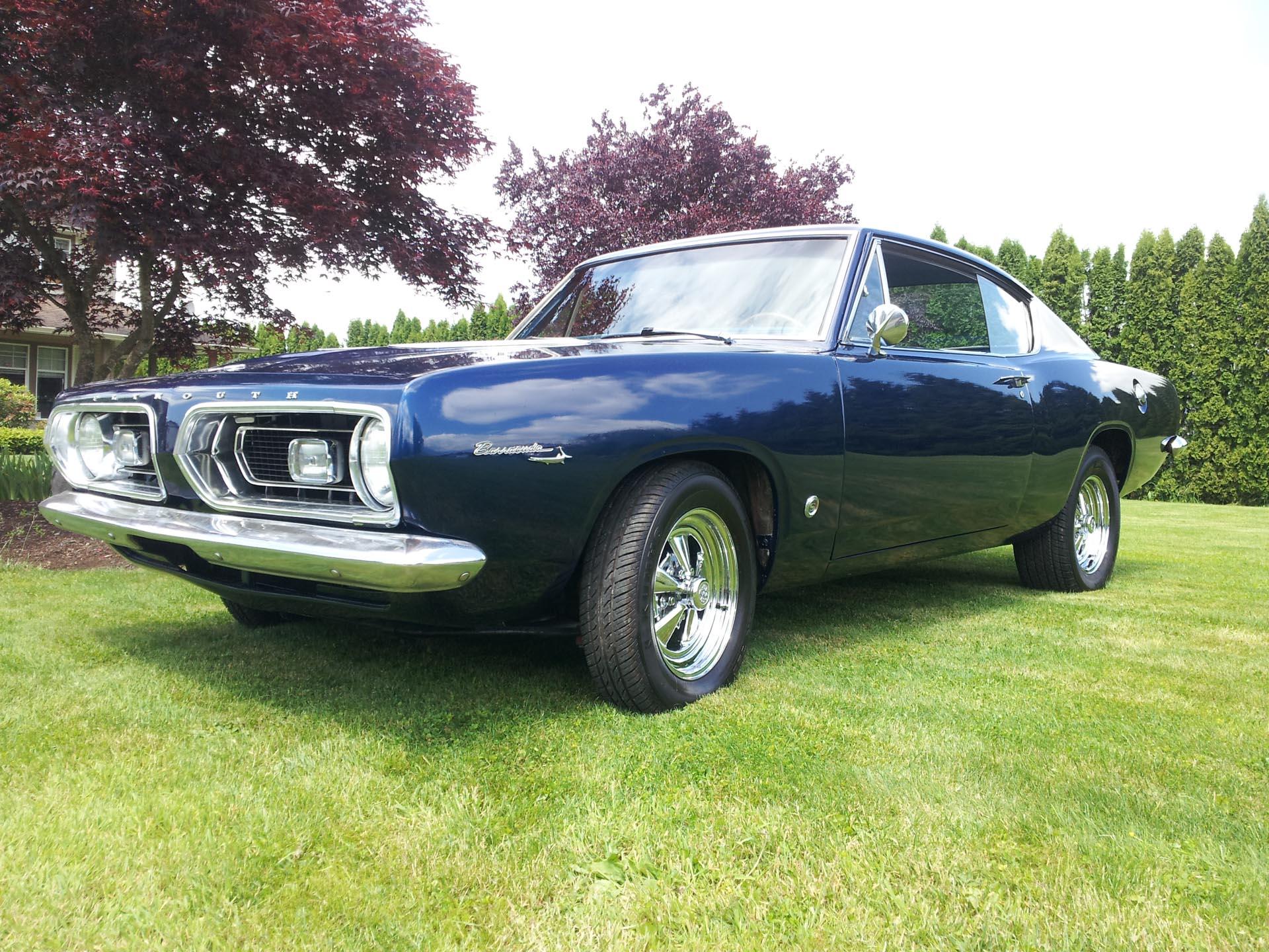 1967 Barracuda - Stones Speed Shop